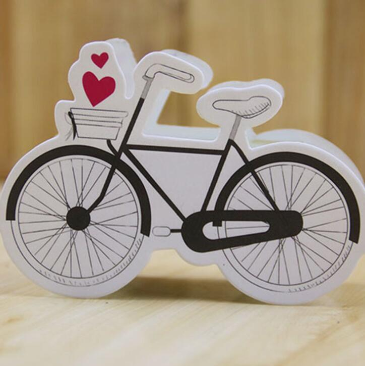 Bike Pattern Wedding Favors Candy Box Engagement Gift Bags Baby Show Gift Boxes Sweet Boxes Party Accessories