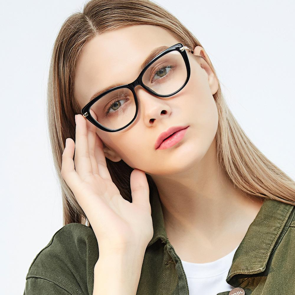 9030b4a7673f Ultra Light Tide Men S And Women S Same Myopic Eye Plain Mirror Frame Can  Be Matched With Finished Glasses Round Face Cool Eyeglass Frames Eye Frames  For ...