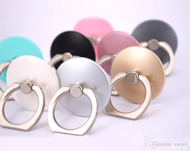 360 Rotation Ring-Halter Handy-Ring Schnallen Grip Ständer Handy-Finger-Metallring-Halter für Handys stehen mit Kleinpaket