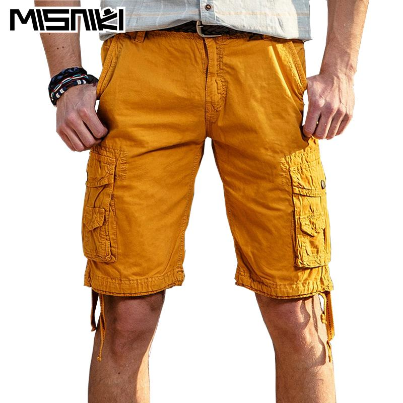 bd3b67306d 2018 Misniki 2017 Summer Casual Male Shorts Cotton Solid Mens Cargo Shorts  Asian Size From Huoxiang, $34.69 | Dhgate.Com