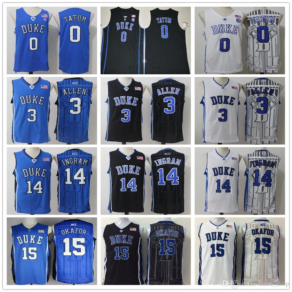 ac038d026ba ... basketball stitched ncaa jersey ef0a7 6a692  low price duke blue devils  college 0 jayson tatum jersey 15 jahlil okafor 3 grayson allen