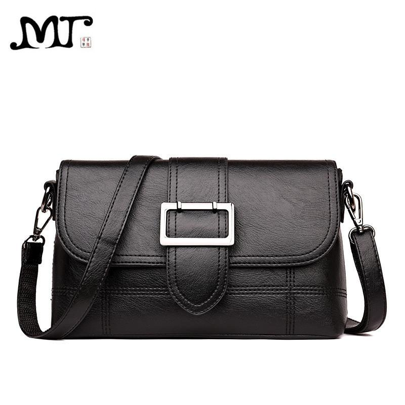 9a3a0a06174c 2019 Fashion MJ Women Shoulder Bag PU Leather Female Crossbody Bag Ladies  Messenger Bags Large Capacity Women Leather Handbag Mother Gift Fashion Bags  ...