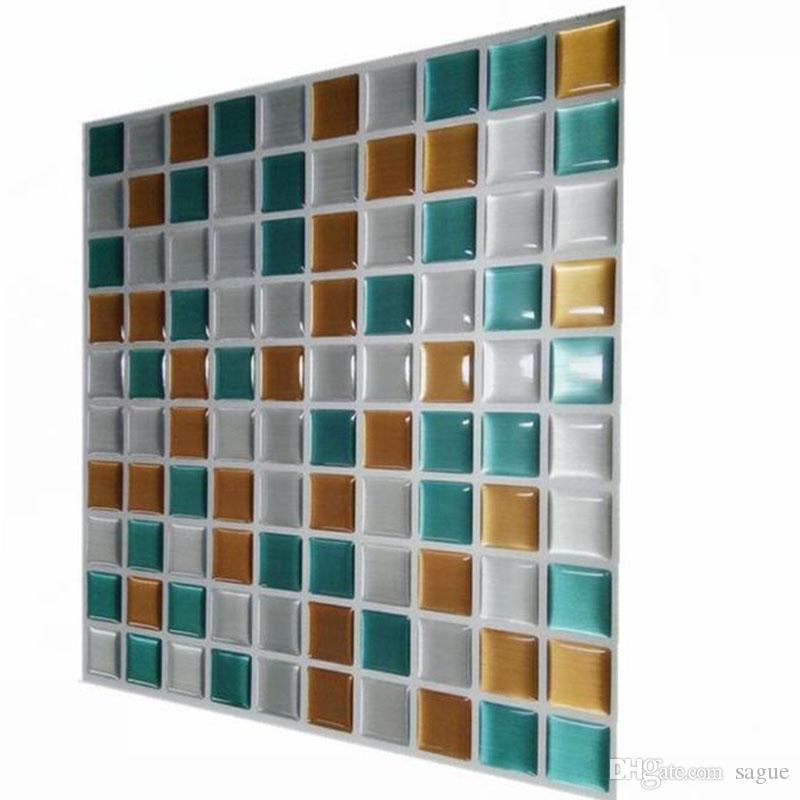 Wholesale Wootile Peel And Stick Mosaic Wall Tile Vinyl Adhesive ...