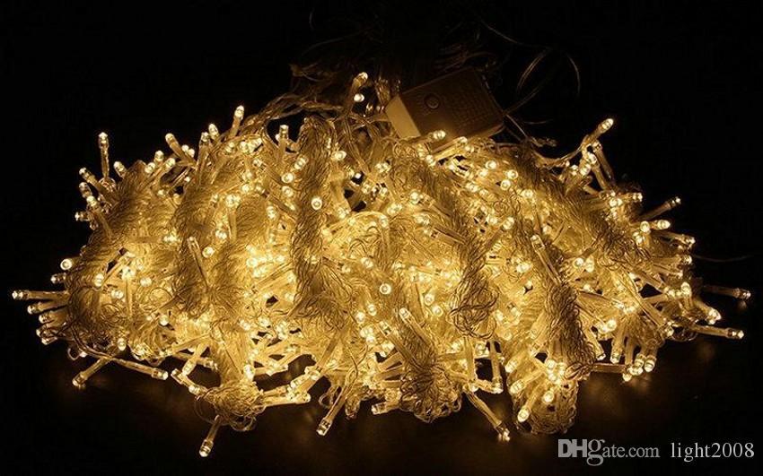 3 m x 3 M 300 DIODO EMISSOR de Luz de Casamento Luz de natal Luz de Natal CONDUZIU a Corda de Fadas De Luz Guirlanda de Aniversário Da Festa de Jardim decorações de Cortina para casa