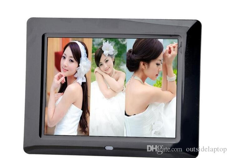 2018 Digital Photo Frame With Remote Control 8 Inch Tft Led Screen