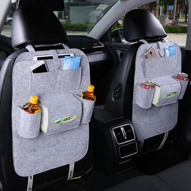 New Universal Car Auto Seat Back Protector Cover Interior Children Kick Mat Storage Bag Accessories Styling Shopping Cart Covers Cheap