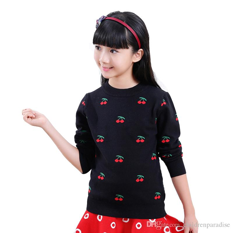 4917e49fb Toddlers Sweaters For Girls Clothing Children Knitted Sweaters ...