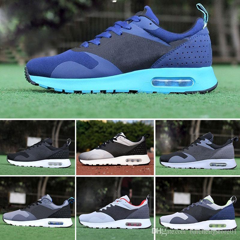 detailed look 6b056 391cb Compre Nike Air Max Tavas Thea 87Tavas 87 Camuflaje De Los Hombres Zapatos  De Camuflaje Negro Thea Print Sport Zapatos De Calzado Deportivo De Tamaño  De 40 ...