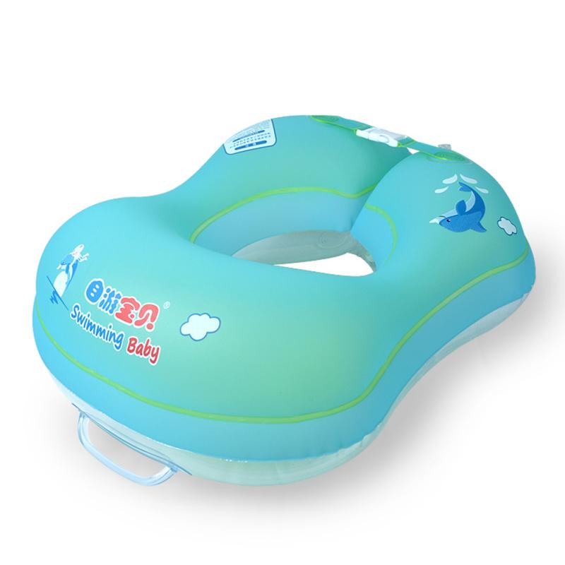 New Kids Inflatable Swimming Baby Swim Ring Floating Pool Accessories  Infant Circle Inflatable Raft Children s Toy Double Airbag
