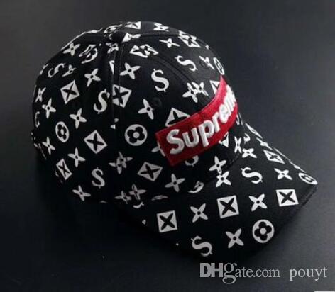 12b1d9327f4 2019 High Quality Fashion New Style Ball Caps Brand Design Baseball Cap God  Hats For Men Women Bone Snapback Luxury Hats From Pouyt