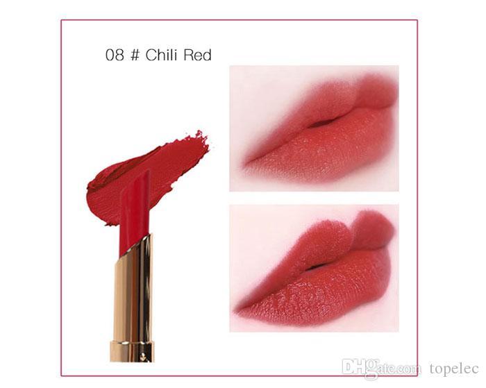 Hot sale MINFEI Brand 12 Colors Velvet Matte Lipstick Makeup Moisturizing Long Lasting Easy to Wear Cosmetics