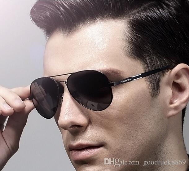 b74cc818e 2018 New European And American Men'S Aluminum Magnesium Polarized Sunglasses  Fishing Driving Driver Mirror Driving Mirror Factory Direct Who Sunglasses  Sale ...