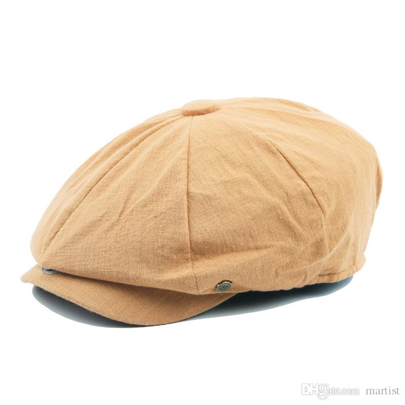 d46280348e1 2019 Winter Beret Flat Top Snapbacks Caps Autumn Casquette Baseball Cap  Designer Hats Dad Hat Bucket Fitted Hats From Martist