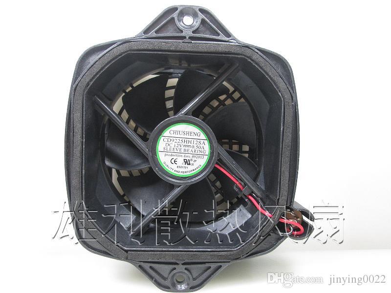Orijinal CD9225HH12SA 12 V 0.50A Kurutma Kurutma Invertör Soğutma Fanı