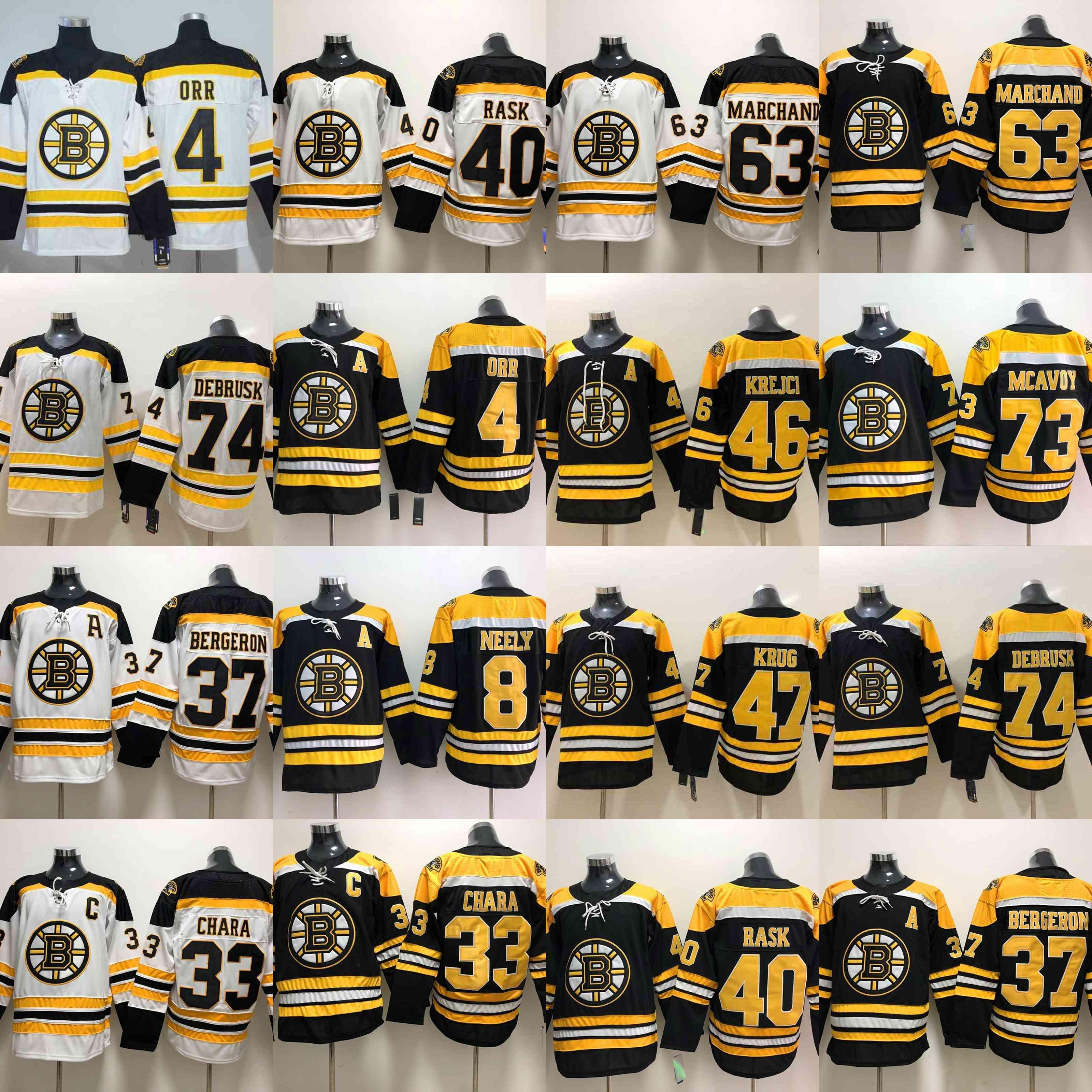 42e207bb6 Boston Bruins 73 Charlie Mcavoy Jersey 74 Jake DeBrusk Zdeno Chara ...