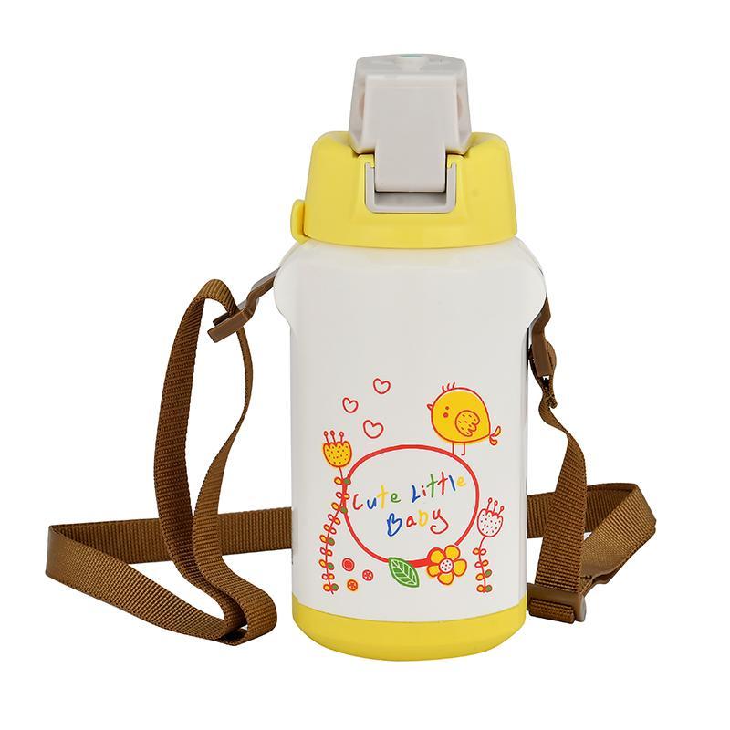 6a8144f5457 Großhandel 350 ML Tier Cartoon Doppelwand Edelstahl Wasserflasche Geschenk  Für Kinder Nette Thermos Tasse Drink Home Reise Trinken Schule Von Kyouny,  ...