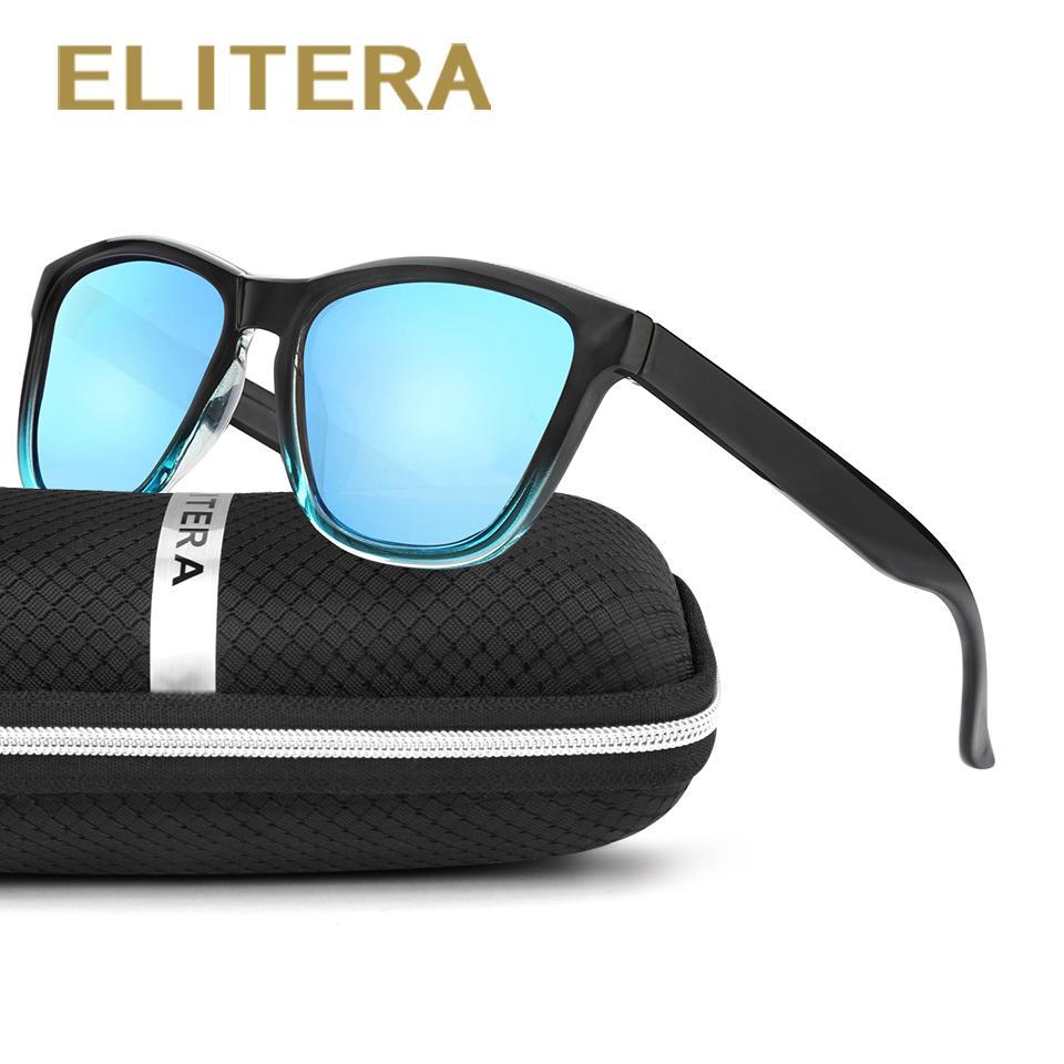 d14cdacddc0 ELITERA New Fashion Polarized Women Sunglasses Famous Lady Brand Designer  Gradient Colors Coating Mirror Sun Glasses UV400 Sunglasses Hut Reading  Glasses ...
