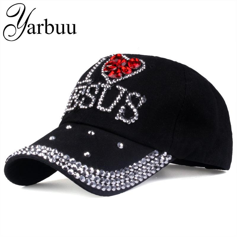 3a4259999d9 YARBUU Baseball Caps 2017 Fashion High Quality Hat For Women JESUS ...