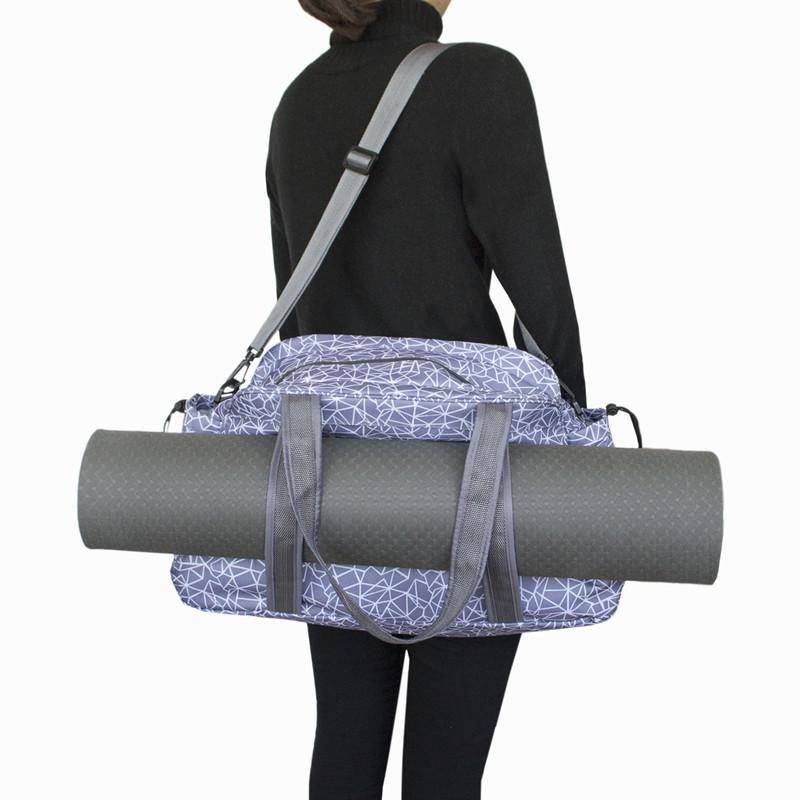 2019 Yoga Mat Bag Women Men Waterproof Training Sports Bag Yoga Pilates Dance  Mat Carrier Case Shoulder Packbag Backpack Handbags From Yarqi 590d047e2ec24