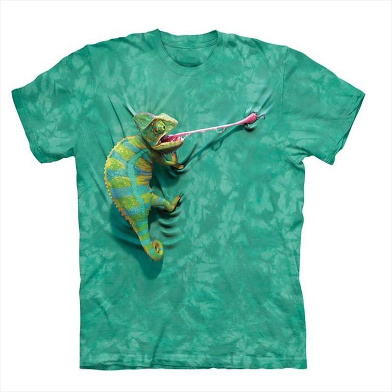 Cool T Shirt Men Or Women 3d Tshirt Print Hot Funny Chameleon Short Sleeve  Summer Tops Tees T Shirt Fashion Long Sleeve Tee Shirts Design Your Own T  Shirts ... d897685b3