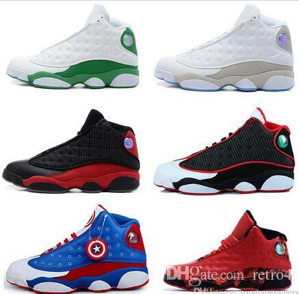 ac70f5796da Best Quality Cheap 13 Men Basketball Shoes DMP Discount Barons All Red  Chicago Black Cat DMP Barons Flint He Got Game Sneakers Men Basketball Shoes  Basket ...