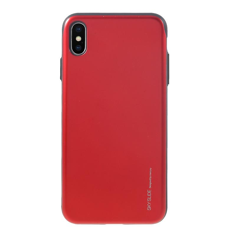 info for 347ed 2ef78 For iPhone XS Max Case Original MERCURY GOOSPERY Sky Series Card Holder  Case Slide PC TPU Cover Case for iPhone XS Max 6.5 inch