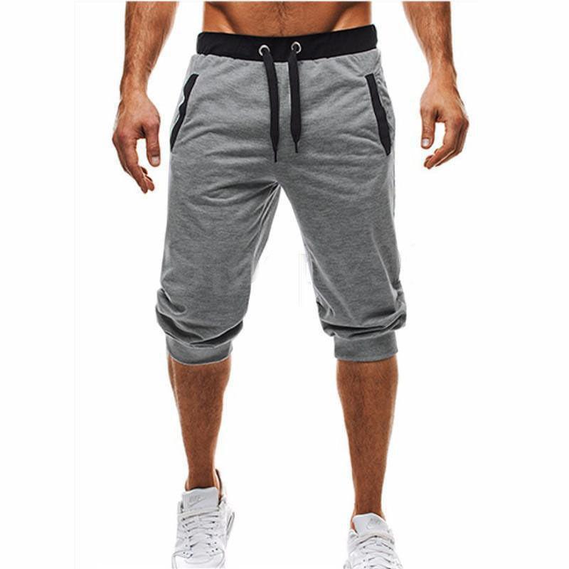 b02b7daca8 Compre EINAUDI Nueva Moda Para Hombre De Bermudas Baggy Jogger Casual  Delgado Harem Pantalones Cortos Pantalones Cortos Casuales Pantalones  Cortos 3XL A ...