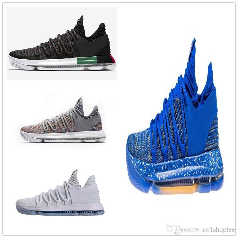 new product 5c262 ef165 Compre Hombres Zoom Kd 9 Elite Multicolor Hombres Kd Zapatillas De  Baloncesto Kevin Durant 10 Iluminación Zapatillas De Tejer Hombres Male  Running Boots ...