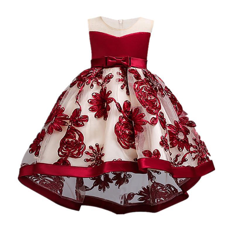 Baby Mädchen Neugeborenen Kleid Für 1 Jahr Geburtstag Party Kleid Bestickt Tutu Infant Kleinkind Blume Kleider 0-2 Jahre Kleidung Moderate Kosten Kleider