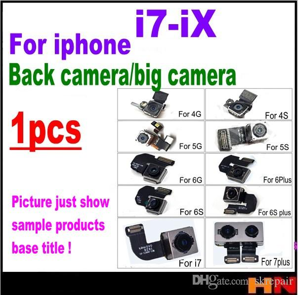 new arrival 1a42c 58b6e 1pcs For iphone X 7 8 plus OEM Back Camera Rear Main Lens Repair Flex Cable  Replacement Parts repair