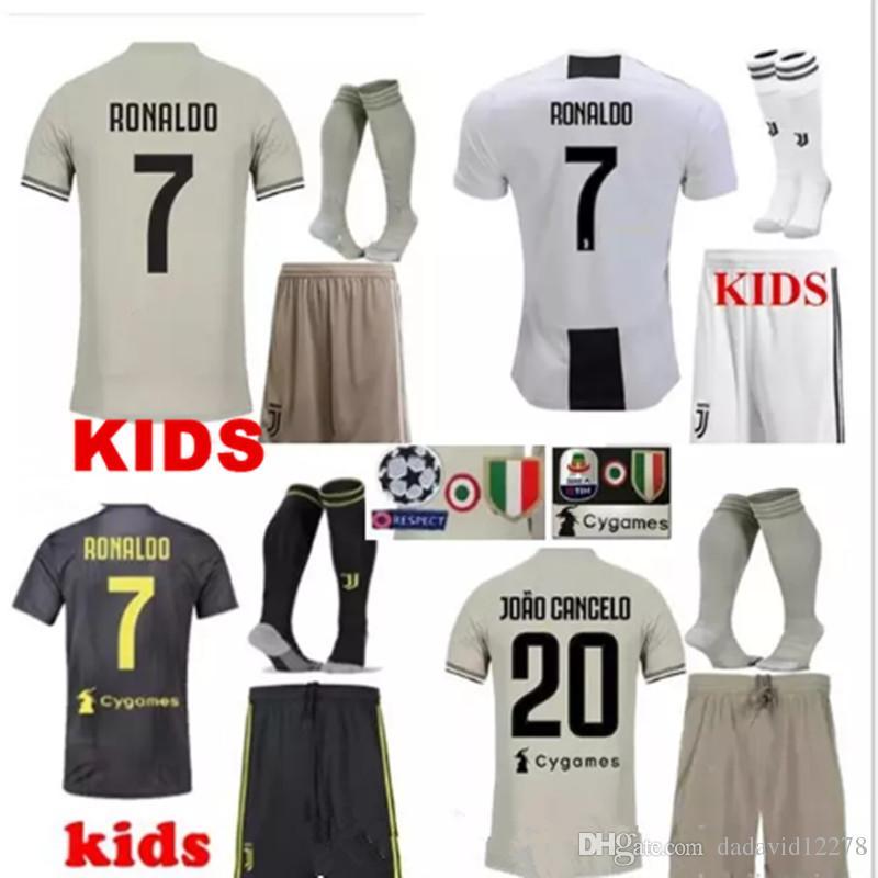 30aa2be90 Juventus FC Cristiano Ronaldo CR7 20182019 Home Kit Soccer