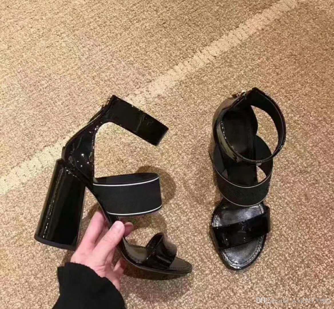 Cap toe Sandals CCC Stiletto Shoes party High heels Ladies