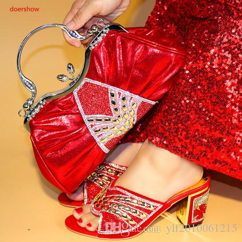 latest design italian shoes and bags set to match high quality fashion style women shoes!Ly1-9