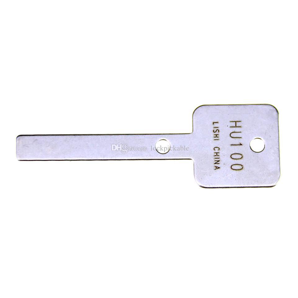 السيد Li's Original Lishi HU100 V.3 2in1 Decoder and Pick - أفضل أقفال السيارات فتح أدوات في السوق