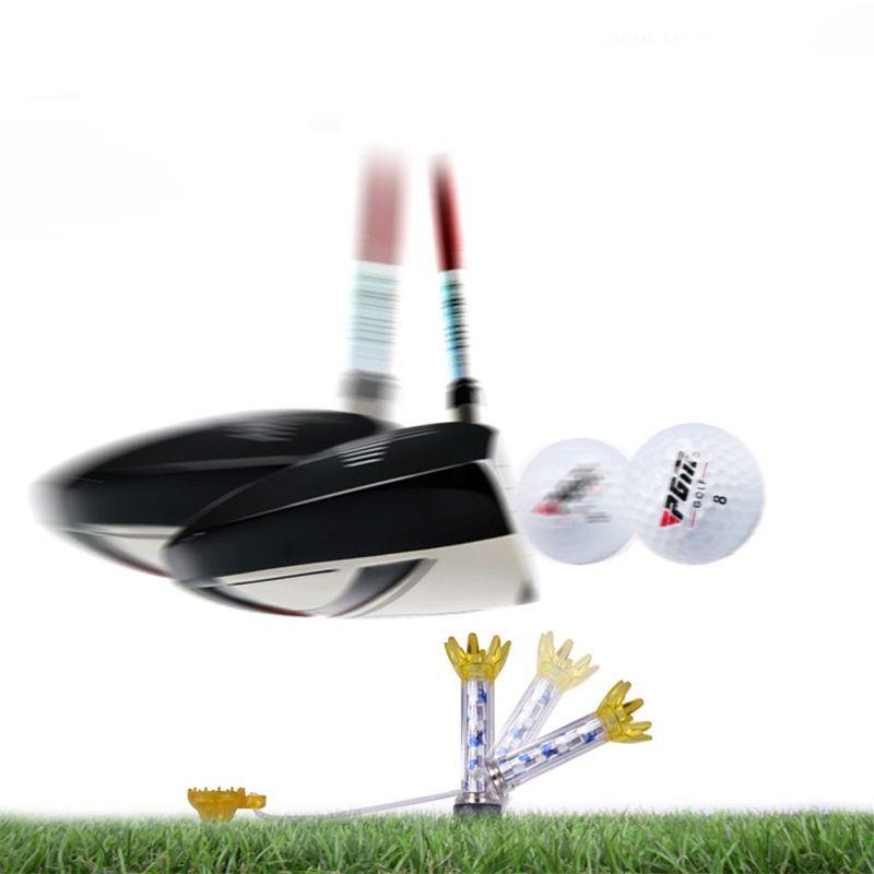 Reset Magnetic Golf Ball Tees Classic Sports Training Balls Tee Detachable Flexible Holders Reduce Resistence 360D Striking Angel 4gf ZZ