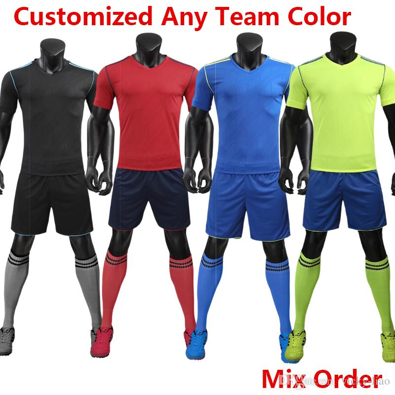 2019 Kids Women Men 2018 Soccer Jerseys Coutinho Messi Ronaldo MBAPPE  Modric Custom Full Kit Tracksuit Uniforms Football Shirt Champions League  From Vicky ... dde354727