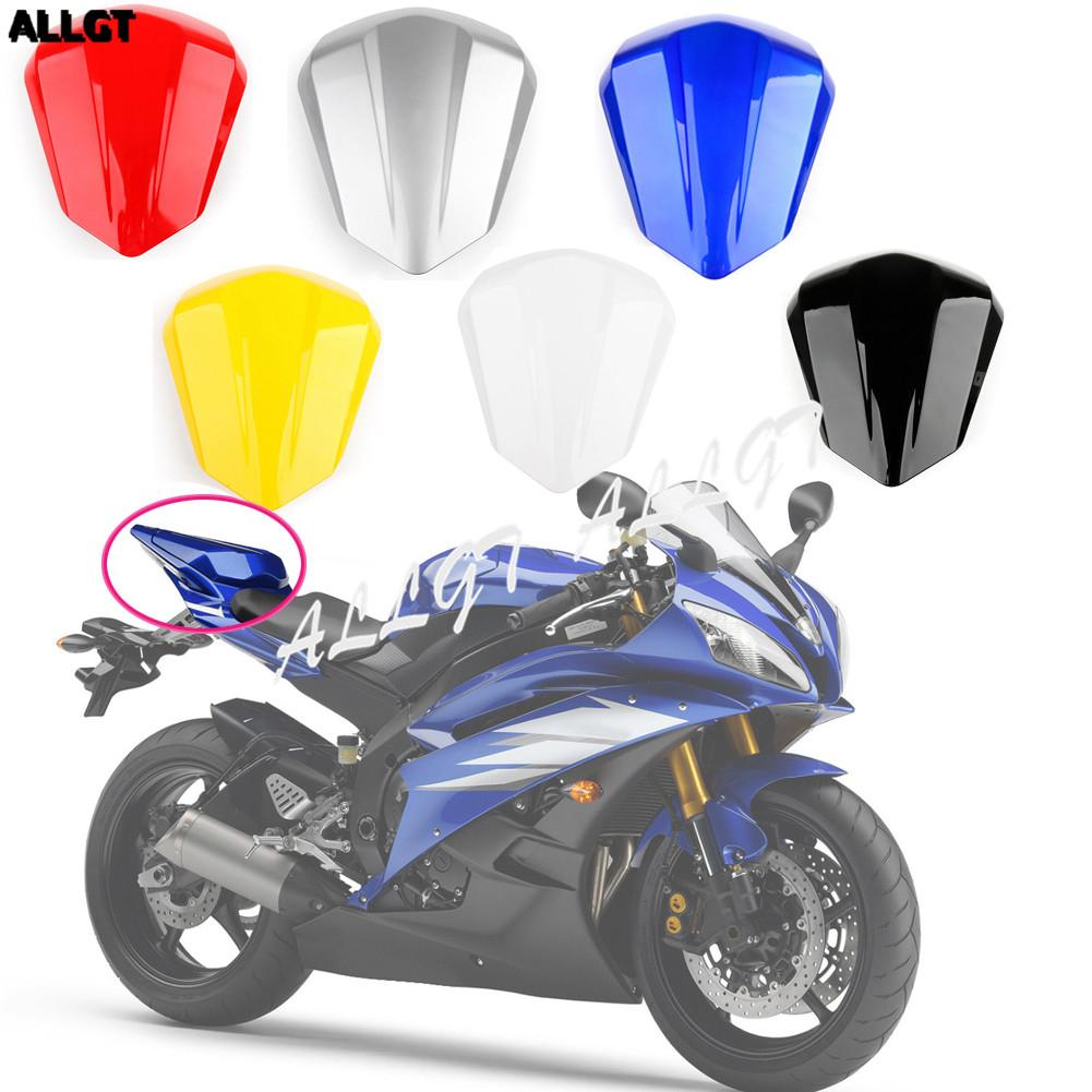 Motorcycle Rear Pillion Seat Cowl Cover Tail Fairing for Yamaha YZF R6 2006  2007 Blue Black Yellow Silver White