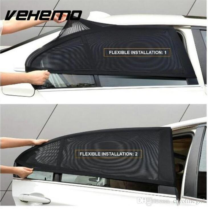 Car Window Cover Sunshade Curtain UV Protection Shield Sun Shade Visor Mesh  Solar Mosquito Dust Protection Car Covers New Custom Windshield Sun Shades  ... f04122d5176