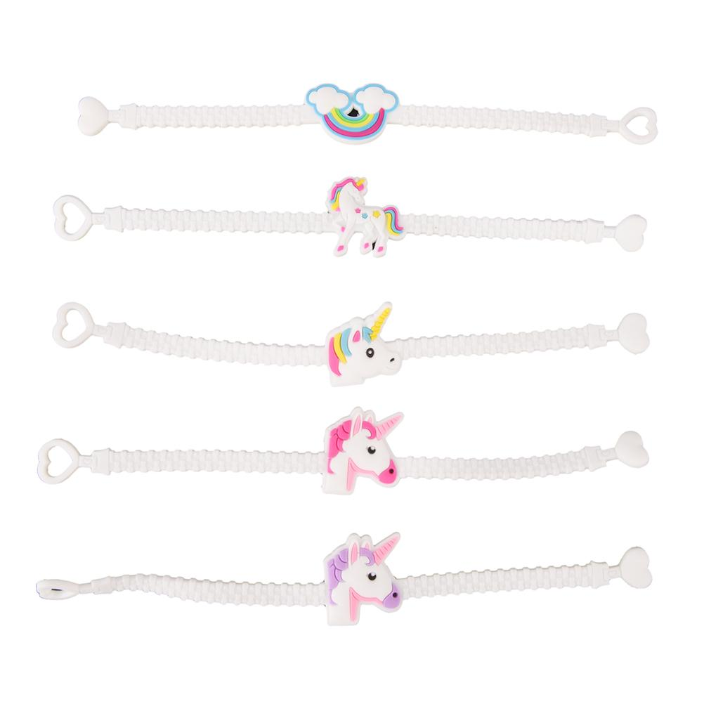 7cbb9219ee85 Children Charm Unique Unicorn Bracelets Girls Boys Birthday Party Bag  Fillers Kids Baby Wristband Child Toy Personalized Birthday Favors  Personalized ...