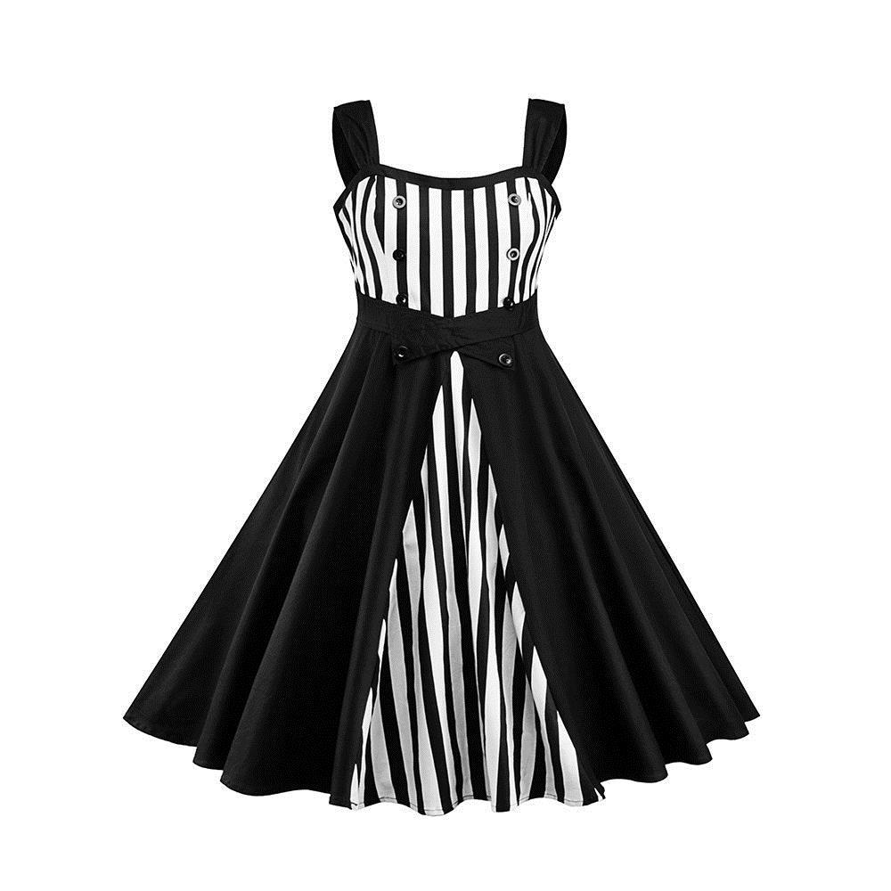 c4d245800795e 2018 Summer Vintage Office Lady Oversized Women Dresses Cotton Casual Loose  Stripe Button Girls Holiday Female Plus Size Dress Shift Dress Long Sleeve  ...