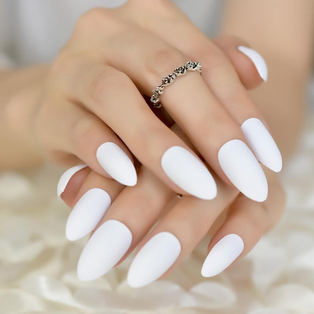 24 Amazing Nail Art Design Tips Delicate Eraser White Fake Nails