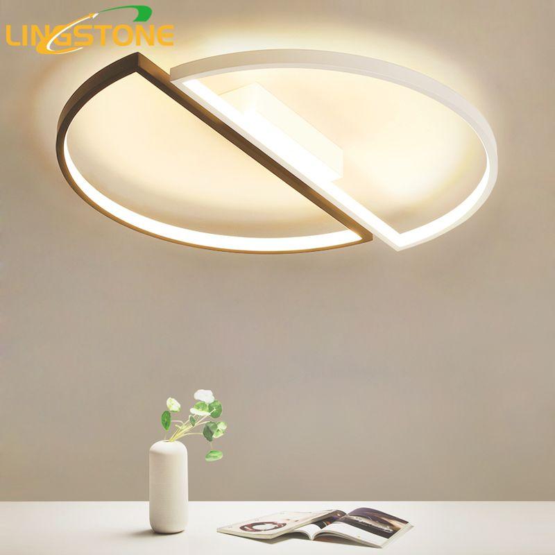 Lampada Led Con Telecomando.Acquista Moderne Plafoniere A Led Con Telecomando Lampada Da