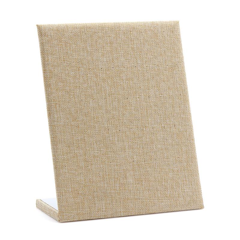 High-grade Linen New Jewelry Stand Earrings Display Photography Prop