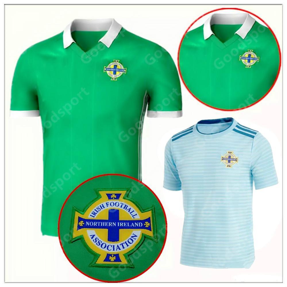 2018 Northern Ireland Soccer Jerseys 2018 World Cup Home Green DEL NORTE Tuaisceart  Eireann McNAIR K.LAFFERTY DAVIS Football Shirts TOP Christmas Day Gift ... 94d8286a9