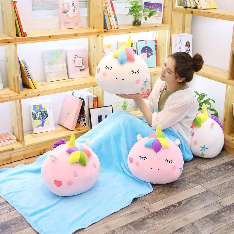 40 In 40 Kawaii Unicorn Plush Toys With Blanket Cute Animal Unicorn Gorgeous Kawaii Throw Blanket