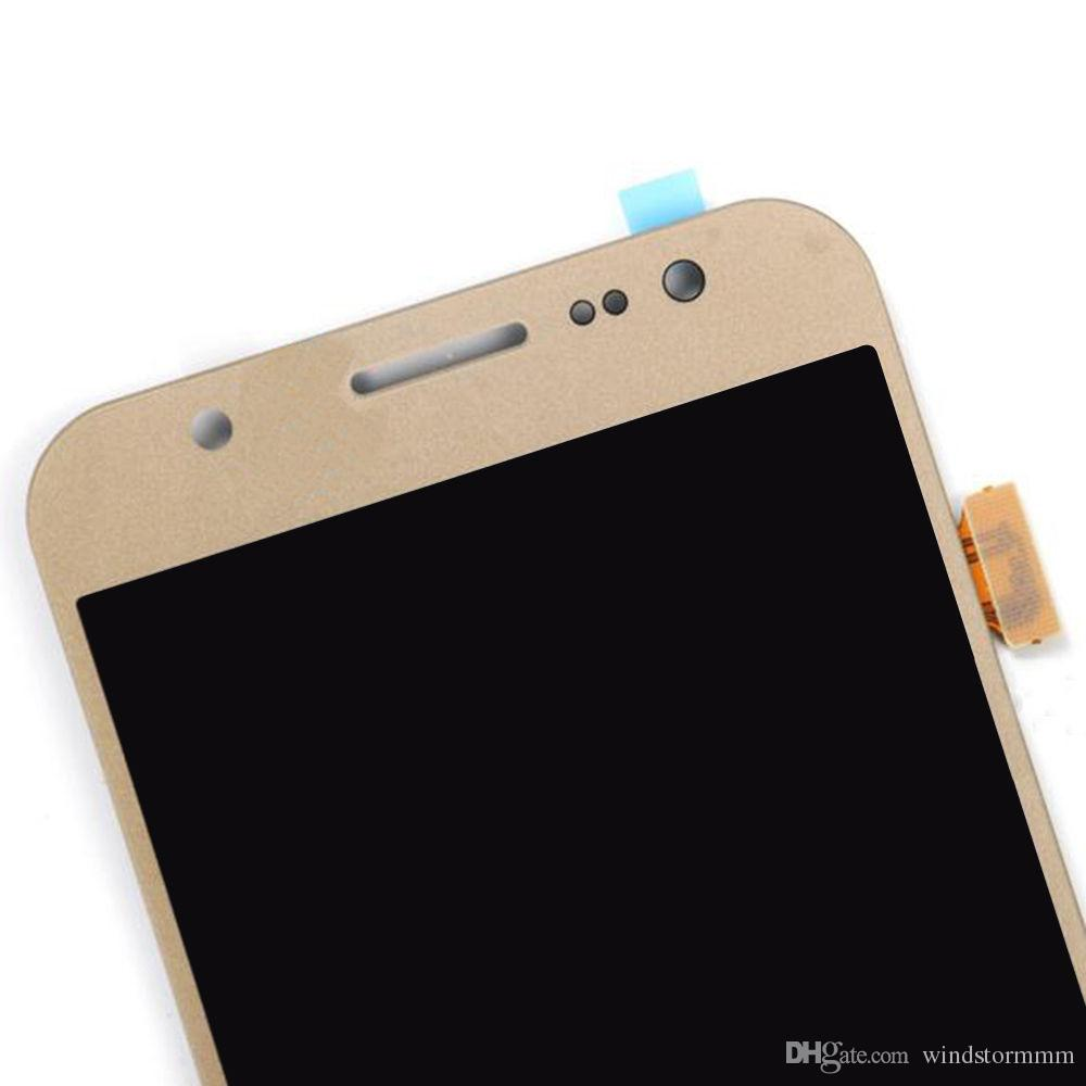 For Samsung Galaxy J510 J510F J510FN LCD Display Touch Screen Digitizer Replace Brightness can be adjusted assembly ferr DHL