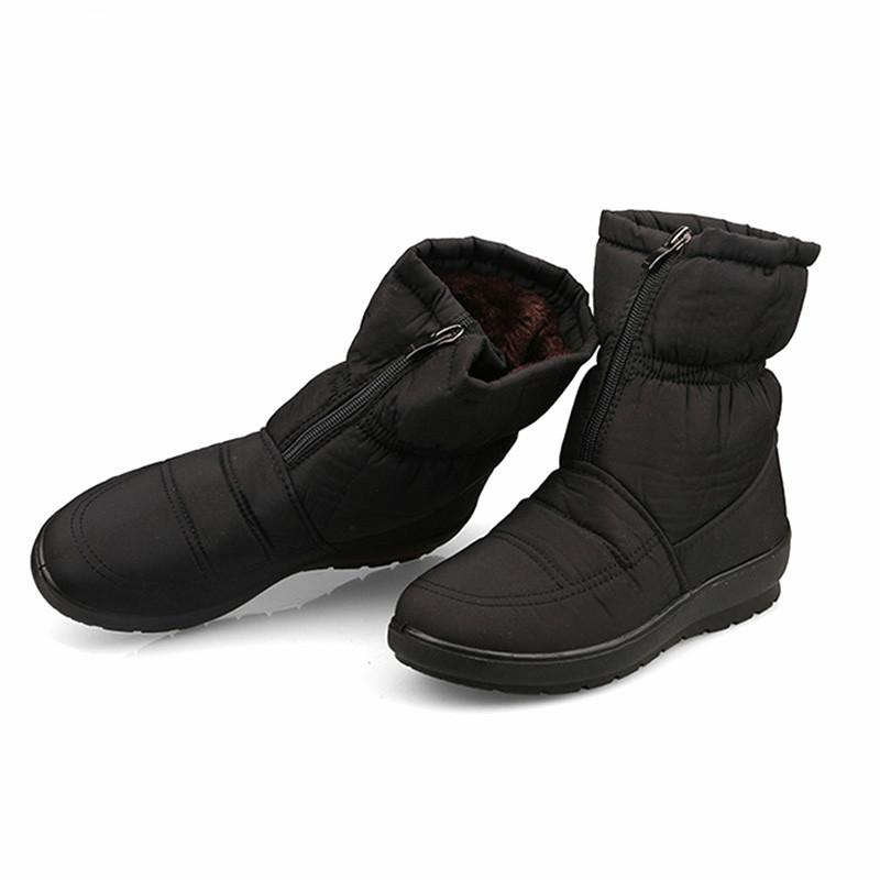 a6959f82d4c5 2018 Women Boots Snow Winter Boots Warm Mother Shoes Waterproof Women Bota  Feminina Plus Zapatos De Mujer Designer Shoes Rain Boots For Women From  Fivestage ...