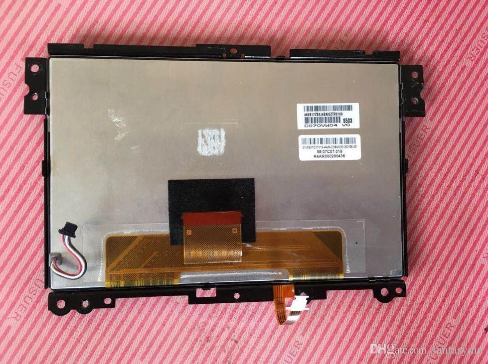 Original 7.0inch LCD display C070VW04 V0 With touch digitizer for Volvo car DVD GPS navigation LCD monitors