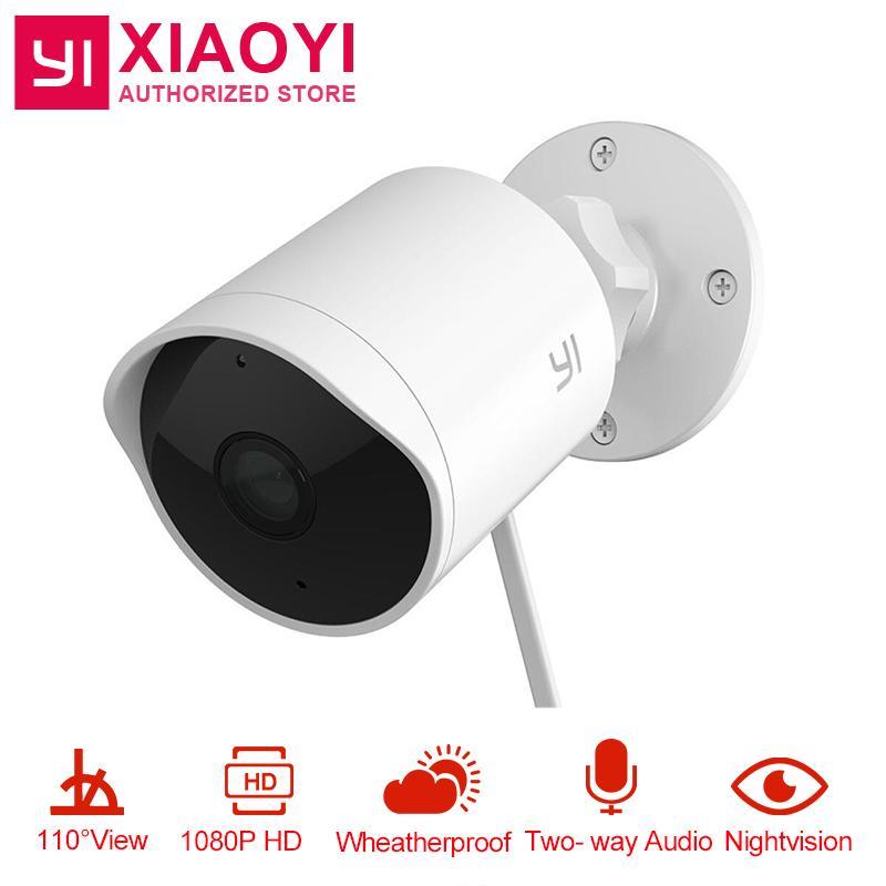 YI Xiaomi Outdoor Security Camera 1080P HD Two-way Audio IP Waterproof  Cloud Cam Wireless Night Vision Surveillance System