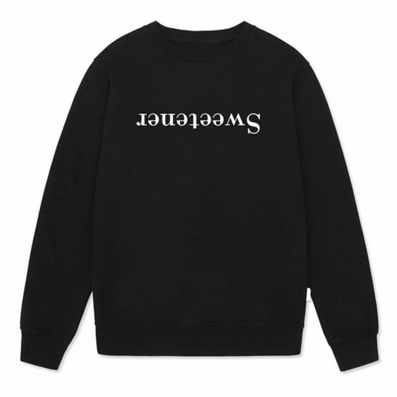 2185c77e1c7 Sweetener Letters Ariana Grande Sweatshirt Women Long Sleeve Fashion Tumblr  Casual Hoodie High Quality Harajuku Women Jumpers D18103003 Online with ...